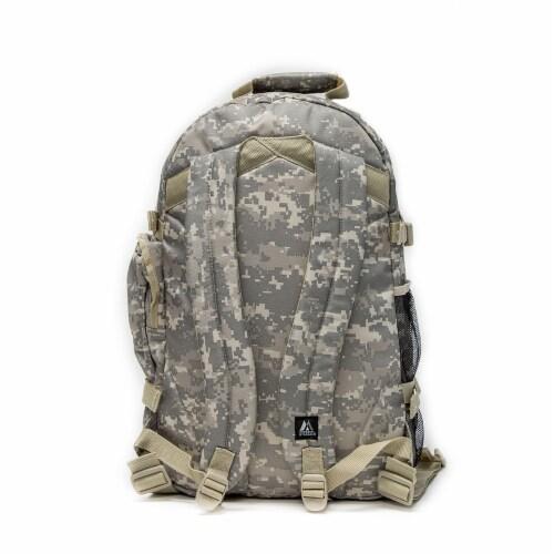 Everest Oversize Backpack - Digital Camo Perspective: back