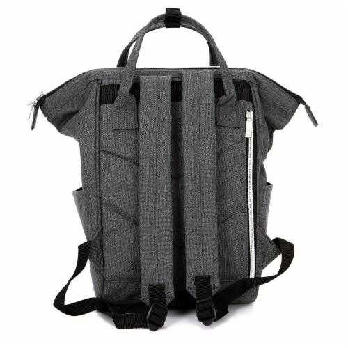 Everest Mini Back Backpack Handbag - Gray Perspective: back