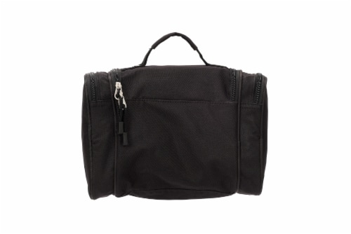 Everest Deluxe Toiletry Bag - Black Perspective: back