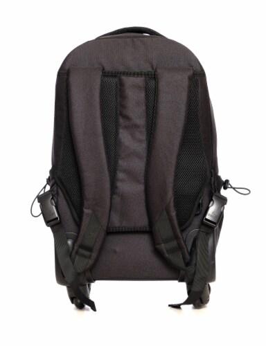 Everest Wheeled Laptop Backpack - Black Perspective: back