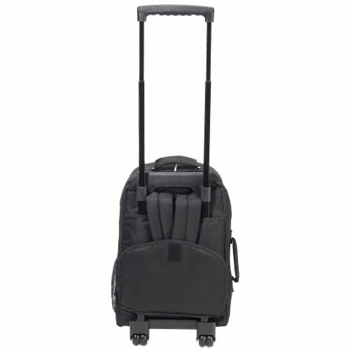 Everest Wheeled Backpack - Black Perspective: back