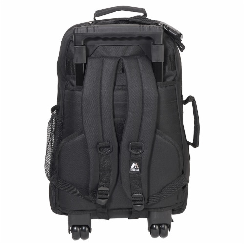 Everest Wheeled Backpack - Black Perspective: back