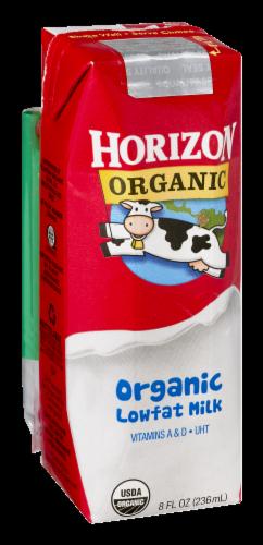 Horizon Organic Lowfat Milk Perspective: back