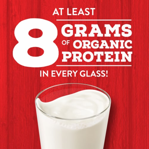 Horizon Organic 1% Lowfat Milk Perspective: back