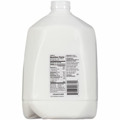 Horizon Organic Vitamin D Milk Perspective: back
