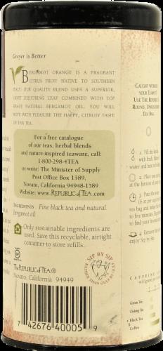 The Republic of Tea Earl Greyer Tea Bags Perspective: back