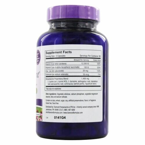 Diamond-Herpanacine  with Antioxidants Perspective: back