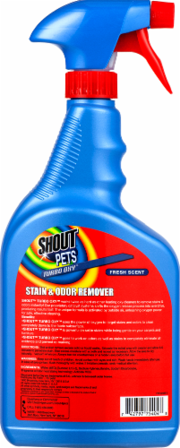 Shout Pets Fresh Scent Stain and Odor Remover Perspective: back