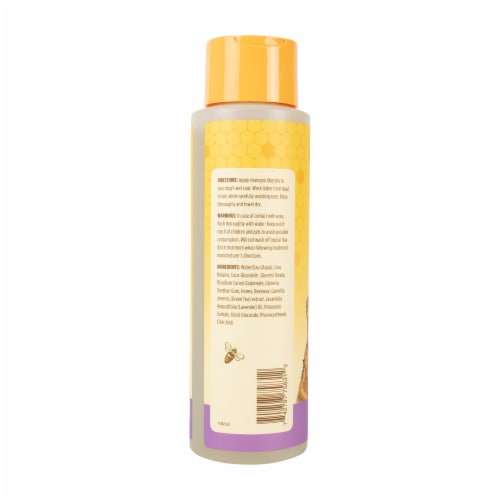 Burt's Bees Lavender & Green Tea Calming Shampoo for Dogs Perspective: back