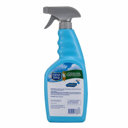 Fresh Step Scented Litter Box Odor Eliminating Spray Perspective: back