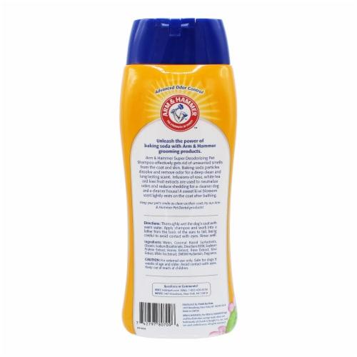 Arm & Hammer Kiwi Blossom Super Deodorizing Pet Shampoo Perspective: back