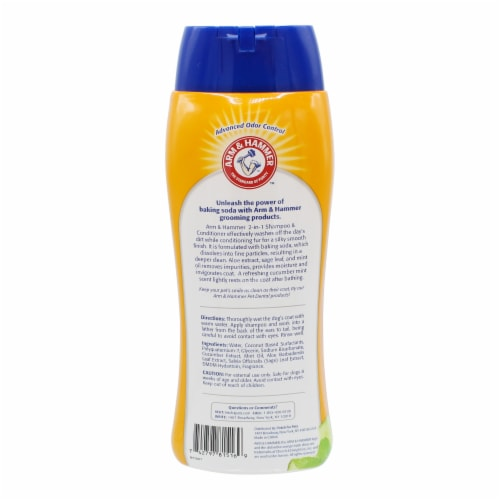 Arm & Hammer Cucumber Mint 2-in-1 Pet Shampoo & Conditioner Perspective: back