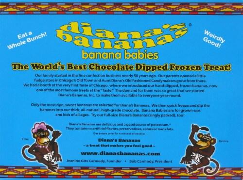 Dian Milk Chocolate Banana Babies Perspective: back