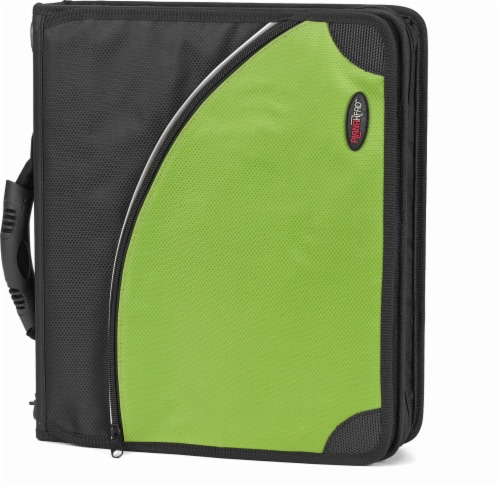 PlanAhead Messenger Binder with Handle - Assorted - 2 Inch Perspective: back