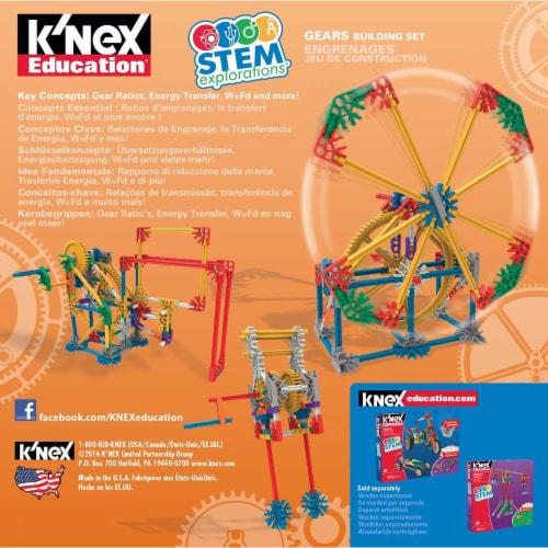K'NEX Education STEM EXPLORATIONS: Gears Building Set Building Kit Perspective: back