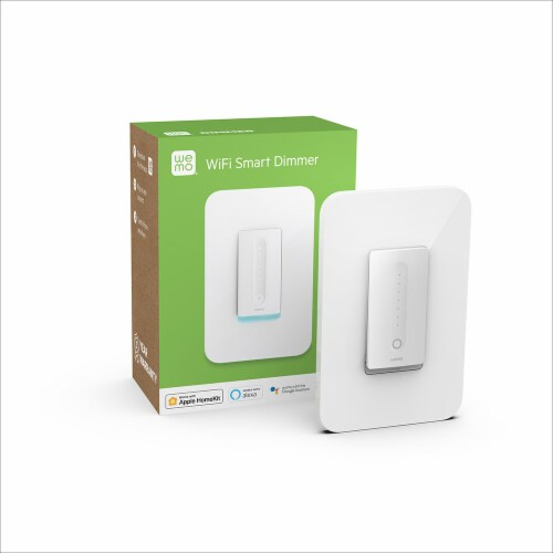 Wemo Wi-Fi Smart Dimmer - White Perspective: back