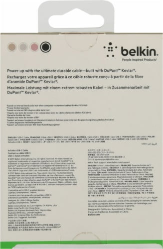 Belkin 10 Watt Wireless Charging Stand Perspective: back