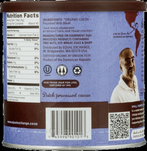 Equal Exchange Organic Baking Cocoa Perspective: back