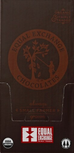 Equal Exchange Organic 88% Cacao Extreme Dark Chocolate Bar Perspective: back