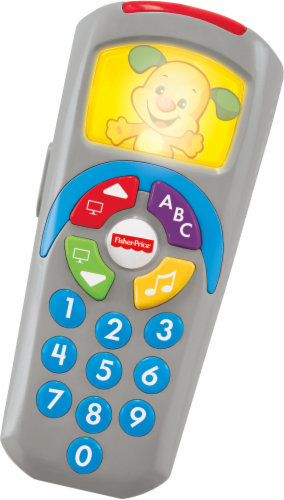 Fisher-Price® Laugh and Learn Click 'n Learn Remote Perspective: back