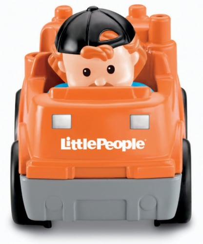 Fisher-Price® Little People Wheelies Recycle Truck Perspective: back