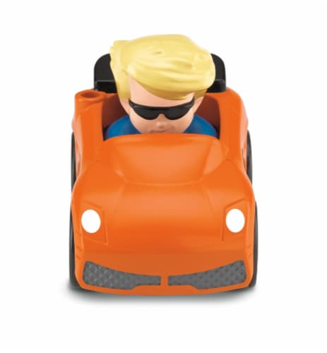 Fisher-Price® Little People Wheelies Eddie Perspective: back