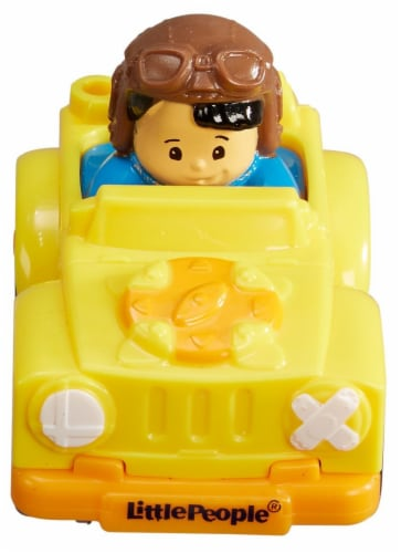 Fisher-Price Little People Wheelies Perspective: back