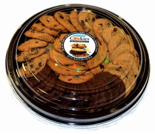 Jimmy's Cookies Gourmet Cookie Platter Perspective: back