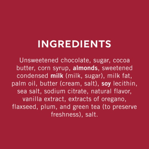 Ghirardelli Dark Chocolate Assortment Squares Perspective: back