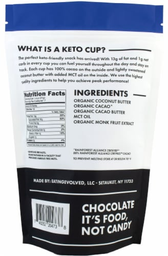 EatingEvolved Original Keto Cups Perspective: back