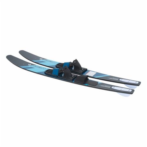 CWB Connelly 61200342-CON Quantum Waterskiing Skis with Bindings 68-inch, Blue Perspective: back