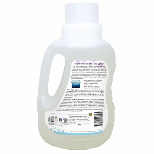 ECOS® Baby Lavender & Chamomile Laundry Detergent Perspective: back