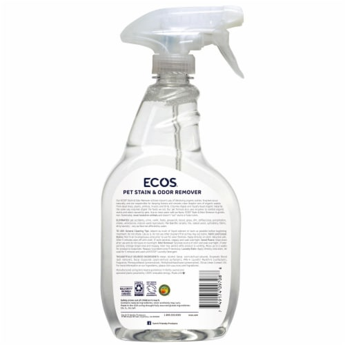 Ecos For Pets! Stain & Odor Remover Perspective: back