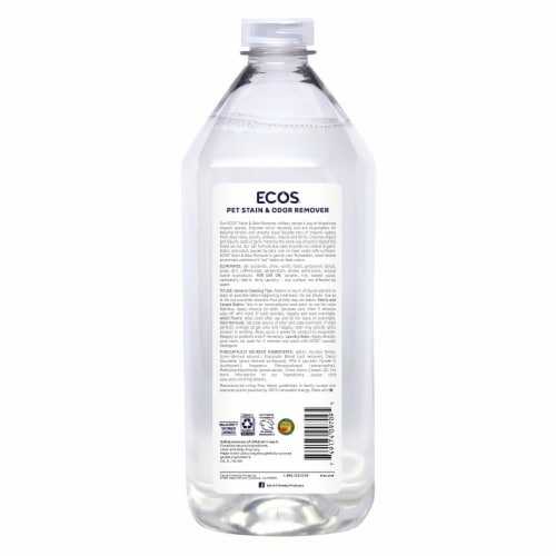 ECOS® Pets Stain & Odor Remover Perspective: back