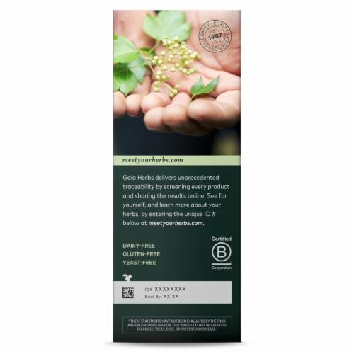 Gaia Herbs PlantForce Liquid Iron Perspective: back