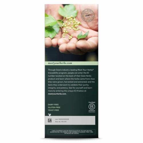 Gaia Herbs  DailyWellness™ PlantForce™ Liquid Iron Perspective: back