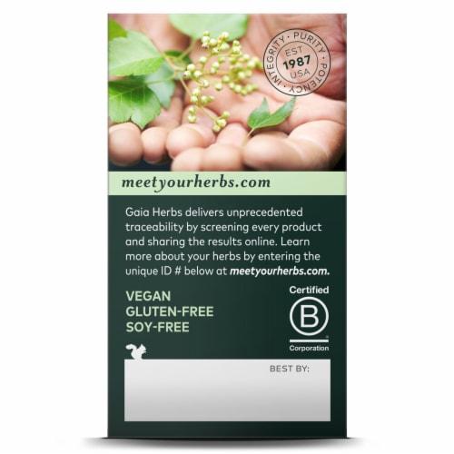 Gaia Herbs® Sound Sleep Vegan Liquid Phyto-Caps Perspective: back