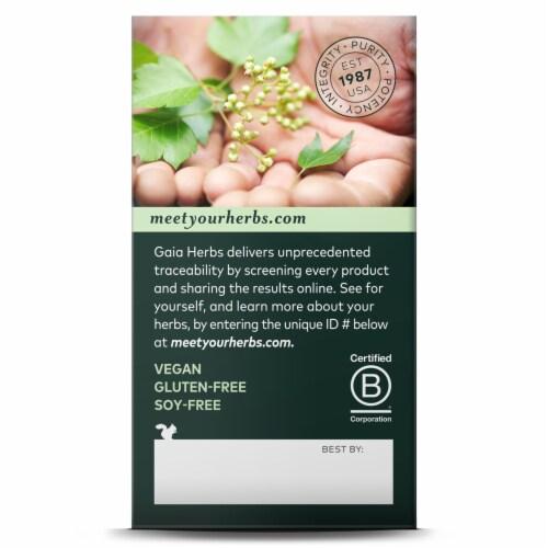 Gaia Herbs Echinacea Supreme Liquid Phyto-Caps Perspective: back