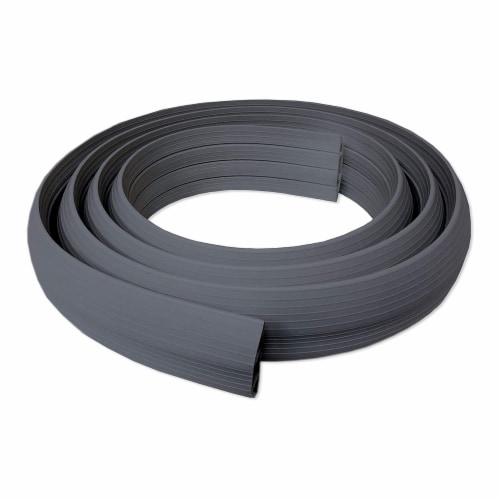 Cable Man Dimex 3 In x 5 Ft Floor Channel Wire, Cord, and Cable Protector, Black Perspective: back