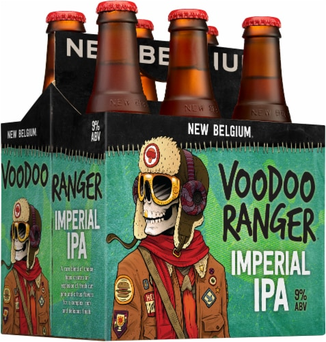 New Belgium Voodoo Ranger Imperial IPA Perspective: back