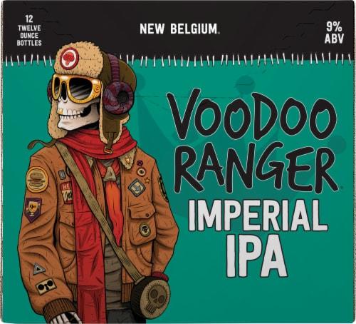New Belgium Voodoo Ranger Imperial IPA Beer Perspective: back