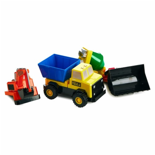 Popular Playthings PPY60401 Build A Truck - Grade 3 Perspective: back