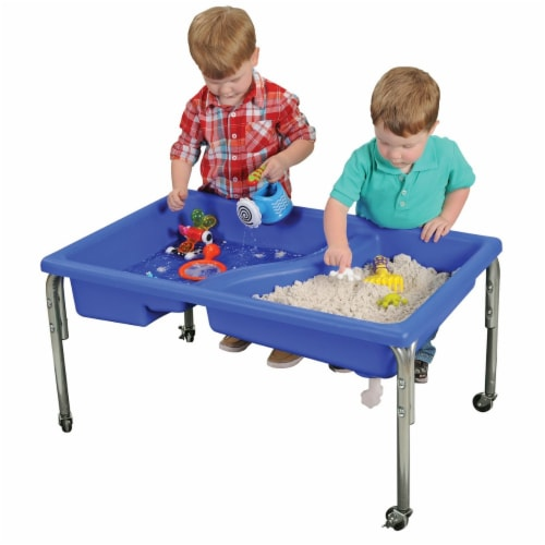 Children's Factory Neptune Sand & Water Table - Regular Height  - 24 Perspective: back