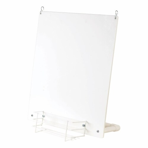 Children's Factory Outdoor Fence Easel Perspective: back