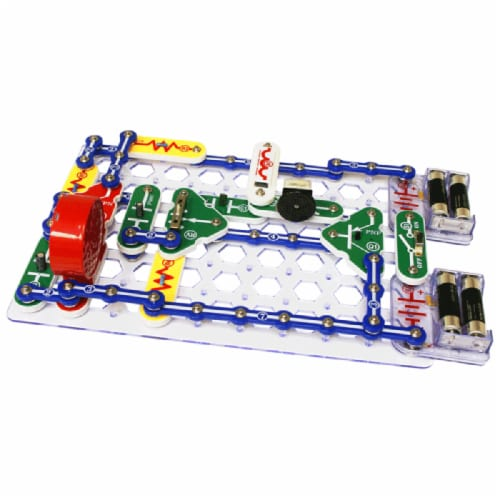 Elenco Snap Circuits Perspective: back