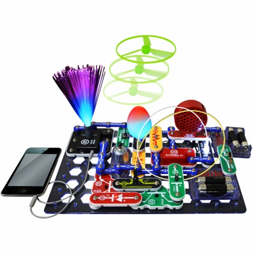 Elenco Snap Circuits LIGHT Perspective: back