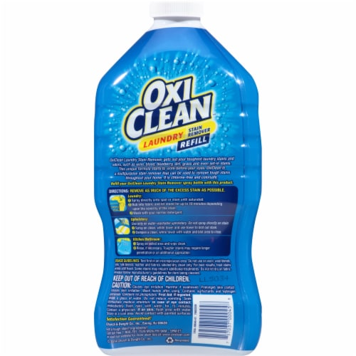 OxiClean Laundry Stain Remover Refill Perspective: back