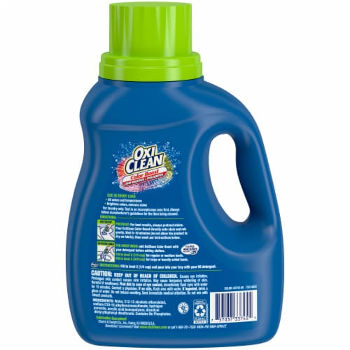 OxiClean Triple Power Free Stain Fighter Laundry Detergent Perspective: back