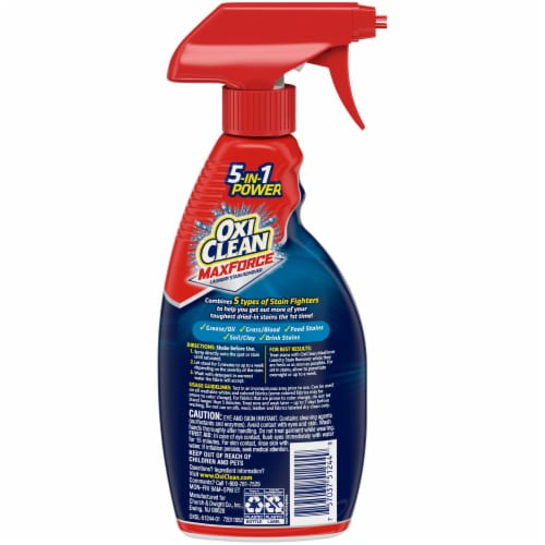 OxiClean Max Force Laundry Stain Remover Perspective: back