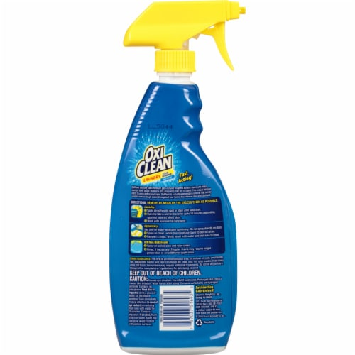 OxiClean Laundry Stain Remover Spray Perspective: back